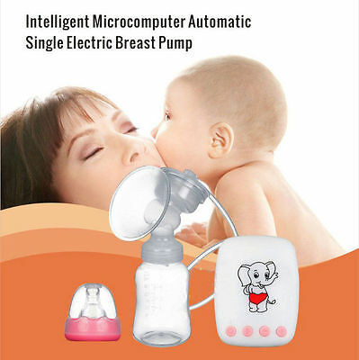 UK Electric Breast Pump Automatic Advanced Breastpump Baby Infant Bottle Feeding