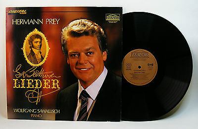 Lp Beethoven - Lieder - Hermann Prey, Wolfgang Sawallisch - Parnass Digital