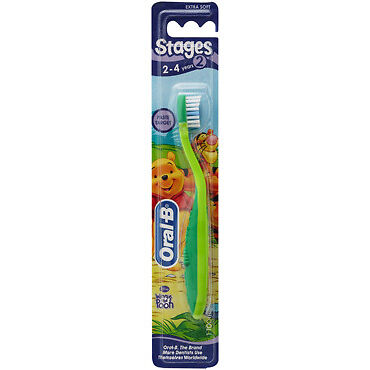 Oral B Toothbrush Stage 2 for 2-4 Years NEW Cincotta Chemist