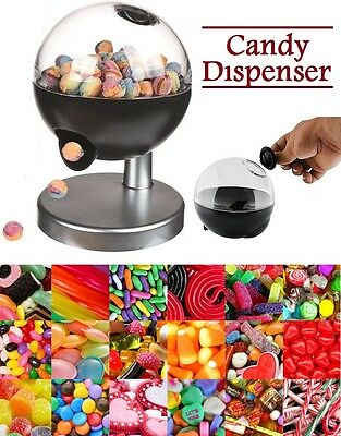One Touch Candy Dispenser Bubble Gum Jellies Sweets Snack Touch Sensor Machine