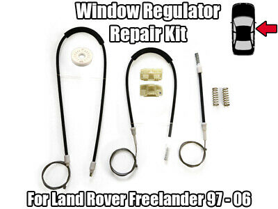 MTC3775 Right Window Regulator Range Rover Classic 2 Door up to EA351846 VIN