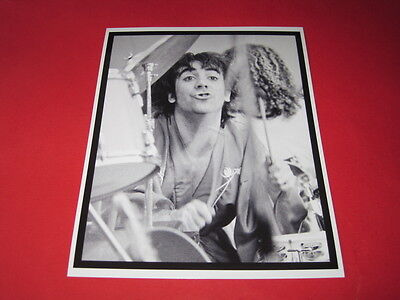 KEITH MOON THE WHO  10x8  inch lab-printed photo P/9031