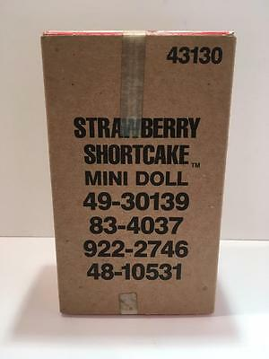 VTG Strawberrry Shortcake First Edition Doll Mint in Box + Shipping Box ~ Kenner