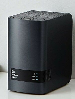 WD MY CLOUD Ex2 Ultra NAS RAID Gigabit Ethernet USB 3 0 - WBVBZ0000JCH