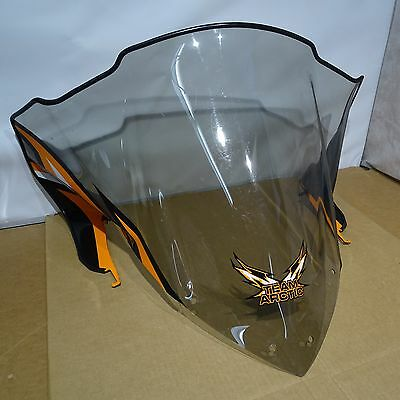 6639-342 14-17 Arctic Cat Snowmobile Tinted Mid Height Pride Windshield = UP2135