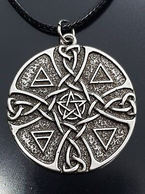 Pentacle of the Elements, Earth,Air,Fire,Water Spirit Talisman of Devotion   a1
