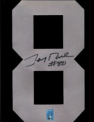 "Jerry Rice Raiders Signed ""8"" Jersey Number Only RICE HOLO"