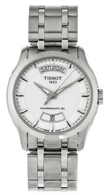 Tissot Couturier Powermatic 80 Automatic Men's Watch T0354071103101 New Orig