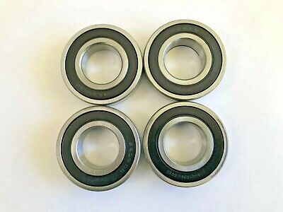 1 pc 6206 2RS double rubber sealed ball bearing, 30x 62x 16 mm