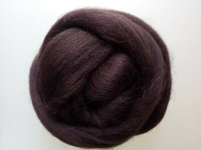 Brown* 100% Merino Wool Roving Tops for Needle and Wet Felting 50 g