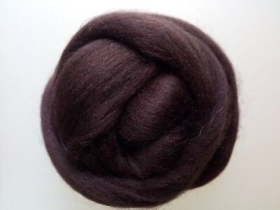 Brown Wool Tops for Felting 50 g