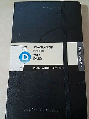 AT-A-GLANCE Daily calendar 2017 Schedule Book Daily Planner ,Day,per month,diary