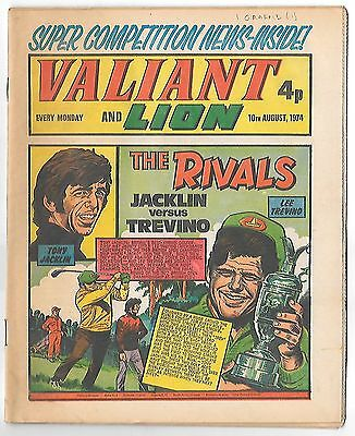 Valiant 10th Aug 1974 (high grade copy) Kid Phaoah, Kelly's Eye, Janus Stark