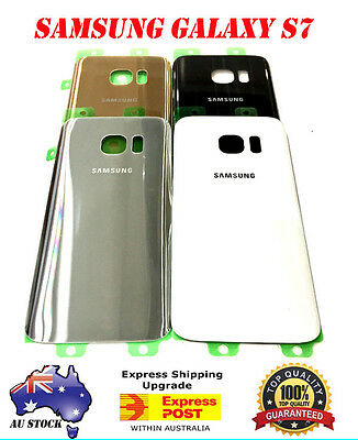 Samsung Galaxy S7 OEM Back Battery Glass Cover Case Housing Door Replacement