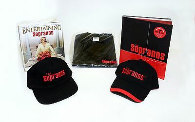 The Sopranos HBO Gift package  -  Books, Hat's & T-shirt
