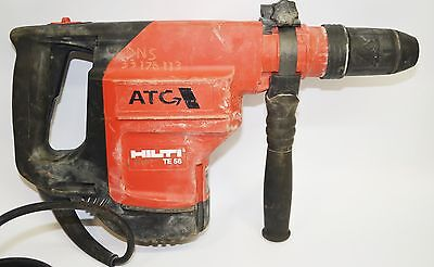 HILTI HAMMER DRILL  TE 56 ATC 1100W with DRILL BITS AND CARRY CASE #695608