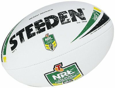 NRL Steeden Replica Match Beach Ball Dimple Size 5