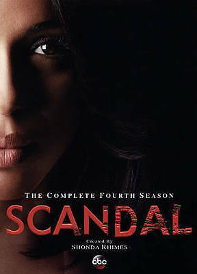 Scandal: The Complete Fourth Season 4 (DVD, 2015) Brand New & Sealed! Ship Fast!