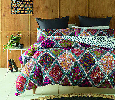 BRAND NEW Phase2 Oakden Quilted King Quilt Cover Set