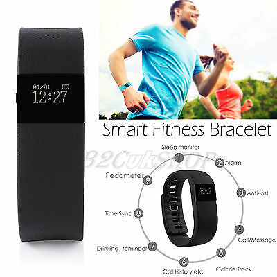 TW64 Fitness Pedometer Smart Sports Activity Wristband Watch Bluetooth Tracker