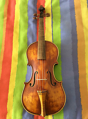 4/4 violin baroque style full hand made 4/4 size violin very nice sound