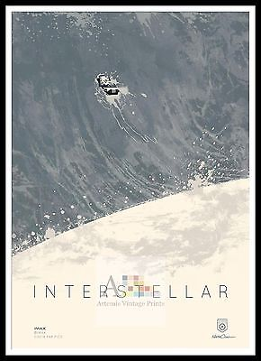 Interstellar    Poster Greatest Movies Classic & Vintage Films