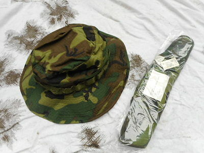 genuine issue 1969 dated TYPE II VIETNAM WAR erdl lime green CAMO BOONIE HAT new