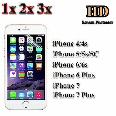 HD Ultra Clear Screen Protector PET Film For Apple iPhone 7,7 Plus 6/6s,6plus 5