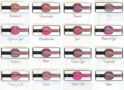 New Huda Beauty Liquid Lip Matte Lipstick Lipgloss Boxed UK Seller - 16 Shades