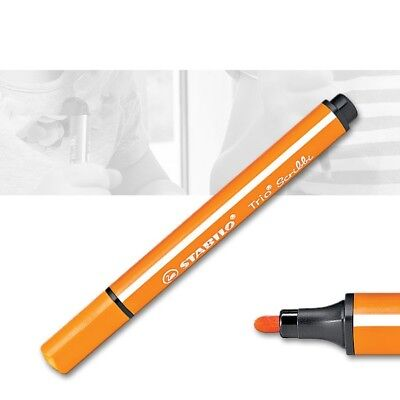 Stabilo Trio Scribbi Fasermaler 954 orange