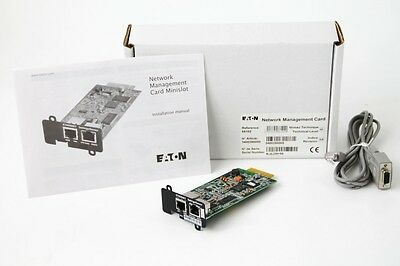 EATON NETWORK-MS Network Management Card 66102 Fernverwaltungsadapter