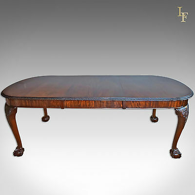 Antique Dining Table, Victorian Extending Mahogany, 4 - 8 Seater, Quality