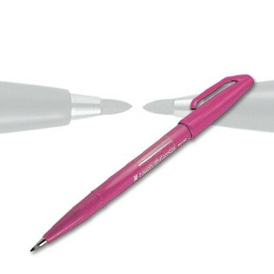 Pentel Sign Pen Brush pink SES15C-P, mit Pinselspitze
