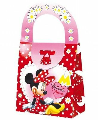 24 Minnie Mouse Clubhouse Food Boxes Carry Handbag Meal Box Birthday Party
