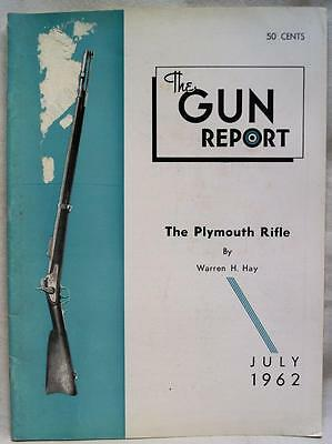 The Gun Report Magazine July 1962 Vintage Antique Firearms Collecting Hobby
