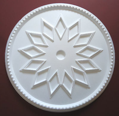 Ceiling Rose Size 460mm - 'Windsor' Lightweight Polystyrene Stunning Design