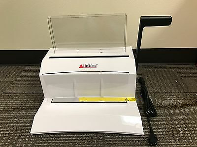 NIB UniBinder 8.M | Thermail Binding, Bind/Crimp/Cool, Binds up to 120 Sheets