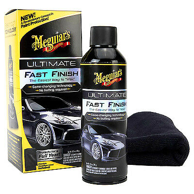 Meguiar's ULTIMATE FAST FINISH WAX Brilliant Gloss Synthetic Polymer Coating HQ