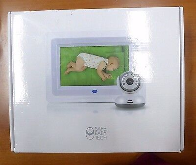 SafeBabyTech 7-Inch LCD Baby Monitor with Wireless Digital Camera (i783)