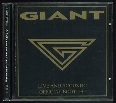 Giant Live And Acoustic Official Bootleg Frcd131 2003 Cd Ottimo Usato
