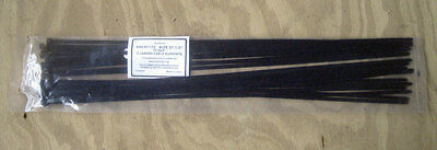 "Commercial 27-1/2"" Black Cable Ties - Qty. 200"