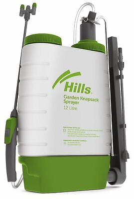 Hills Garden Sprayer 12L Knapsack Multipurpose Garden and Chemical Sprayer