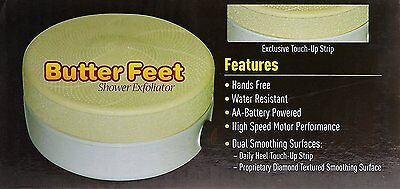Butter Feet Shower Foot Spa Shower Exfoliator Remove Skin Calluses Hands Free