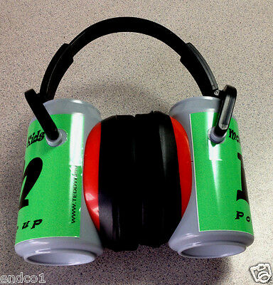 Kids Monster Truck earmuffs Real & safe  Hearing Protection Ear muff