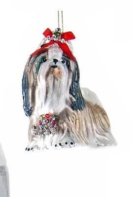Katherine's Collection dog ornament lhaso apso Or shih tzu Christmas 22-622076