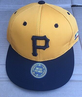 huge selection of f9efe c0623 Pittsburgh Pirate Mlb Hat Cooperstown Collection