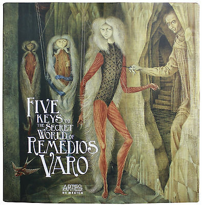 The Five Keys to the Secret World of Remedios Varo book NEW very rare