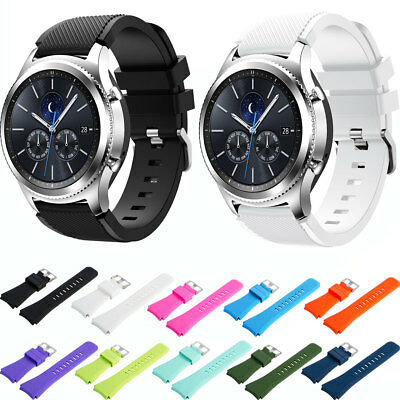 22mm Silicone Watch Band Strap for Samsung Galaxy Gear S3 Classic/S3 Frontier
