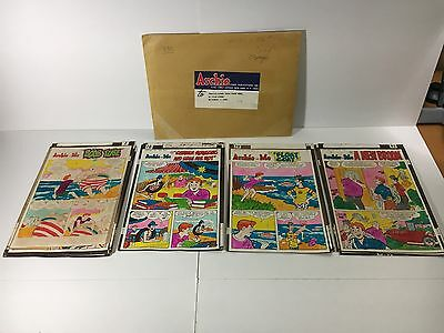 Archie and Me #52 Color Guide Oct. '72, 37 pages & envelope *SALE*