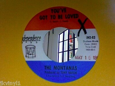 Montanas-You've Got To Be Loved-Ind-83. Vg++
